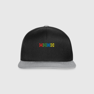 eat sleep repeat krypto hodl bitcoin START krypto - Snapback Cap