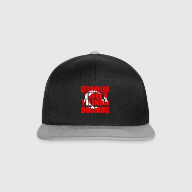 Tuerkiye Turkey legends born 1961 - Snapback Cap