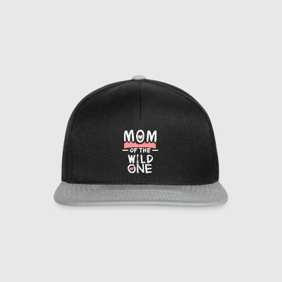Mother's Day Mom Wild one cool funny gift - Snapback Cap