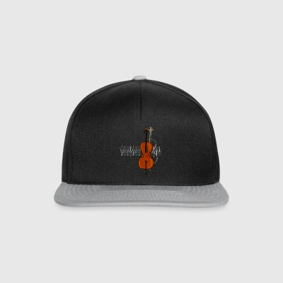 Cello 2 Diseño brillante - Gorra Snapback