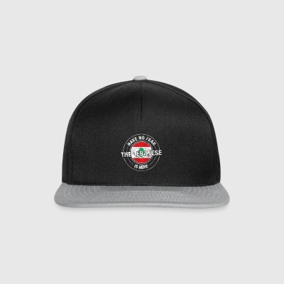 Have No Fear The Lebanese Is Here - Snapback Cap