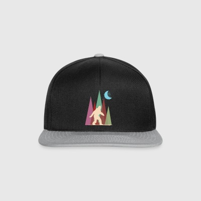 Grand pied abstrait - Casquette snapback