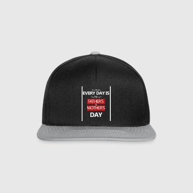 muttertag-mothersday-vatertag-fathersday - Snapback Cap