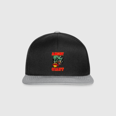 Vintage Angry Giant cartoon-stijl - Snapback cap
