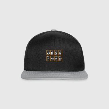 Genius father - Snapback Cap