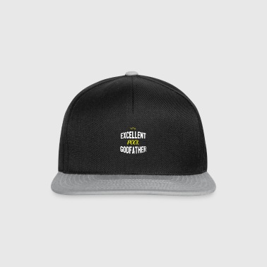 Distressed - EXCELLENT POOL GODFATHER - Snapback Cap