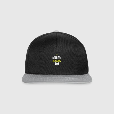 Distressed - COOLEST JOGGING SON - Snapback Cap