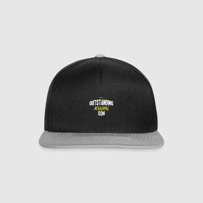 Distressed - OUTSTANDING JOGGING SON - Snapback Cap