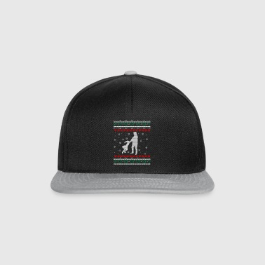 Father Daughter Ugly Xmas Sweater Gift Christmas - Snapback Cap