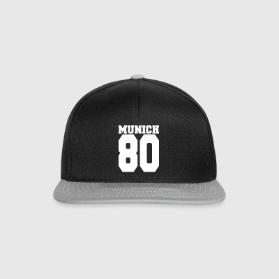 Munich Munich 80 City Country Gift - Snapback Cap