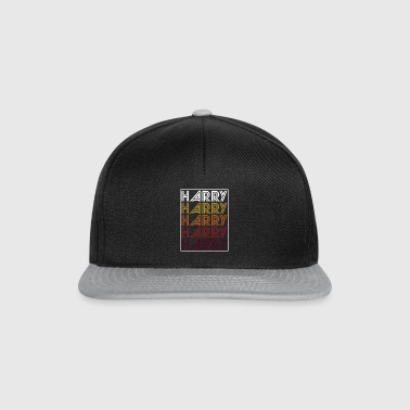 Harry Retro Ordmerke Pattern - Snapback-caps