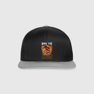 Bend the Knee Shirt - Snapback Cap