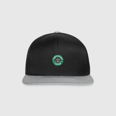 coffee coffee roast dark dark father mask humor - Snapback Cap