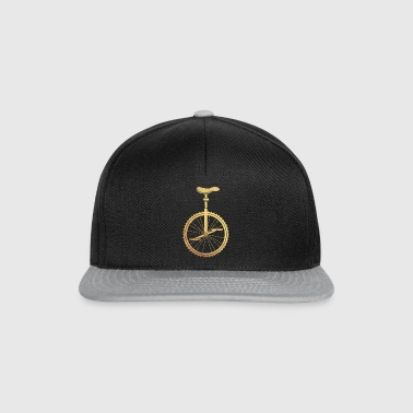 Gold unicycle - Snapback Cap