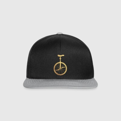 monocycle d'or - Casquette snapback