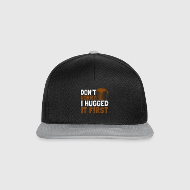 Shirt for woodcutter as a gift - hug - Snapback Cap
