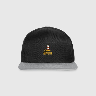 Advent One Candle Christmas Season Countdown Cool - Snapback cap