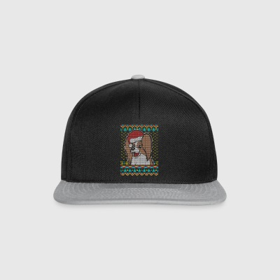 Toy Spaniel Papillon Ugly Christmas Sweater lahjat - Snapback Cap