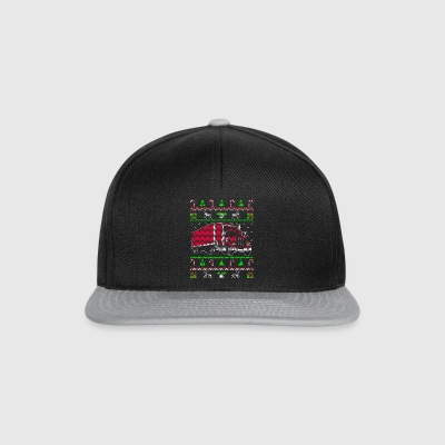 Trucker lastbiler Ugly jul Sweater gave - Snapback Cap