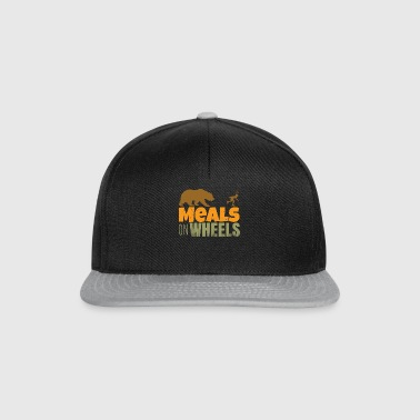 inlineskate - meals on wheels - Snapback cap