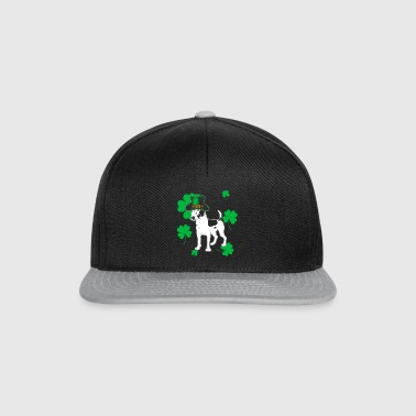 Jack Russell St Patricks Day Gift - Snapback Cap