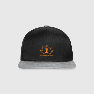 BE STILL, BE SILENT, BE YOURSELF - Snapback Cap