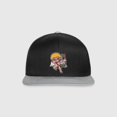 Dab dabbing Cupid Valentine's day  - Casquette snapback