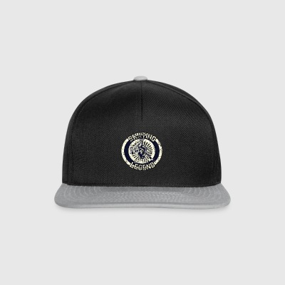 Skateboarder Skating Legend Board 1970 - Snapback Cap