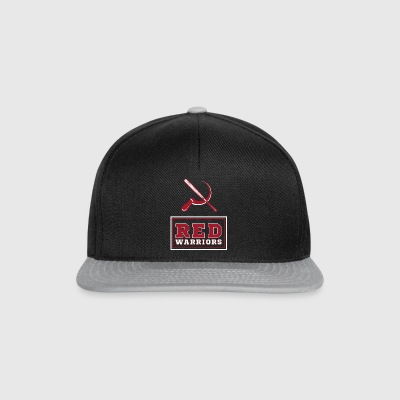 Red Warriors Logo2 - Snapback Cap