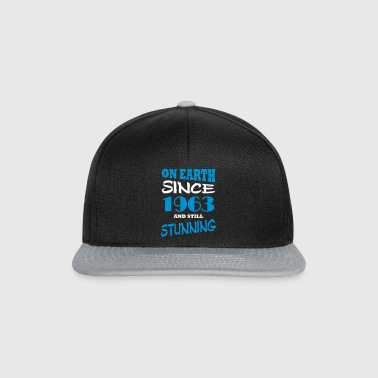On earth since 1963 and still stunning - Snapback Cap