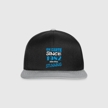 On earth since 1982 and still stunning - Snapback Cap