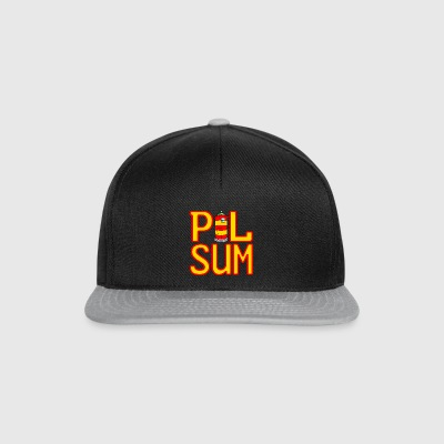 Pilsumer lighthouse logo - Snapback Cap