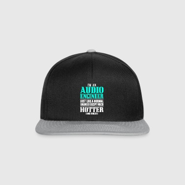 AUDIO ENGINEER - Snapback cap