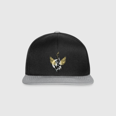 Guitar wings swing Graffiti rock music dance - Snapback Cap