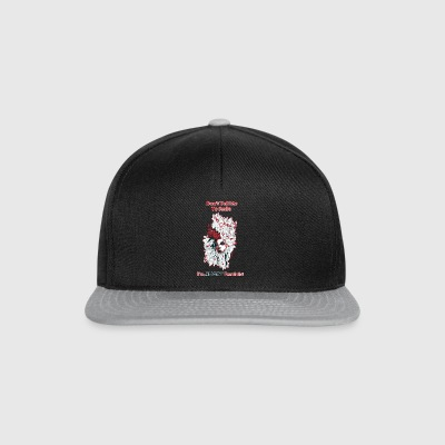 Do not tell me to smile - Snapback Cap