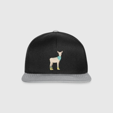 Deer with rubber boots - Snapback Cap