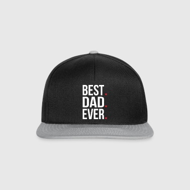 Best Dad Ever Love Fathers day - fathers day - Snapback Cap