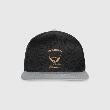 Bearded for her pleasure - bearded - Snapback Cap