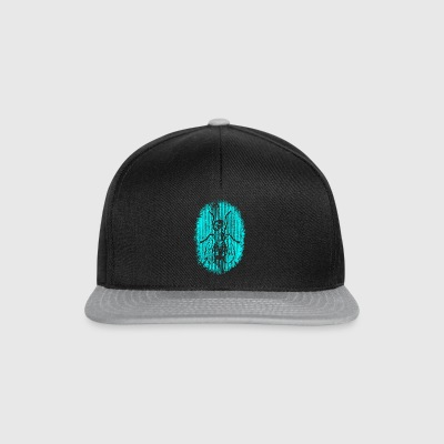 fly Turquoise - Snapback cap