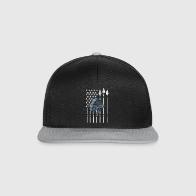 Native American flag nativi americani - Snapback Cap