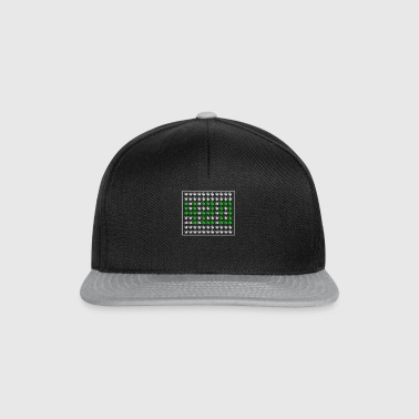 Cannabis Leaf Design 420 - Snapback-caps