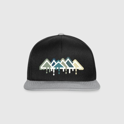 Mountains - Climbing Shirt - Snapback Cap