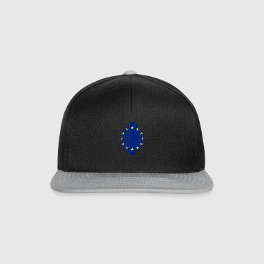 European Union EU grid flag - Snapback Cap