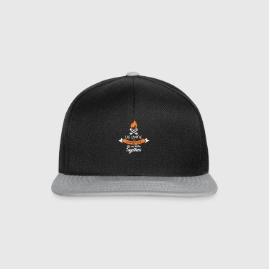 like campfire and marshmallows we are better - Snapback Cap