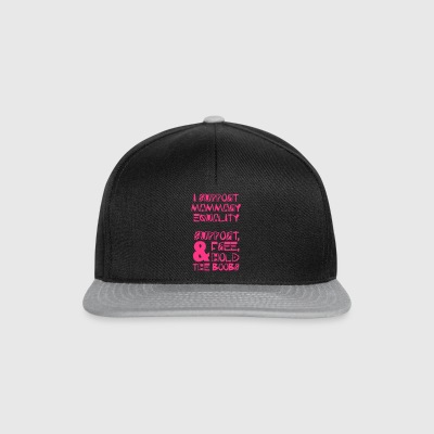 #Fablife - Support Mammary Equality and the Boob - Snapback Cap