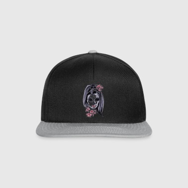 mask woman - Snapback Cap