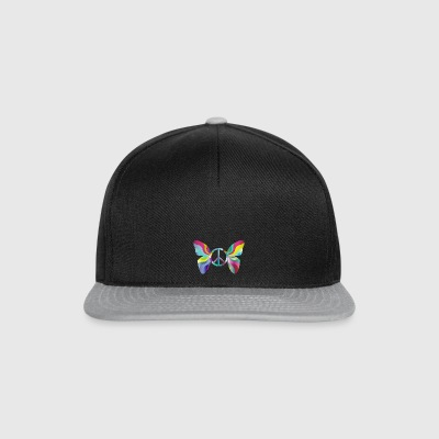 Butterfly and peace - Snapback Cap