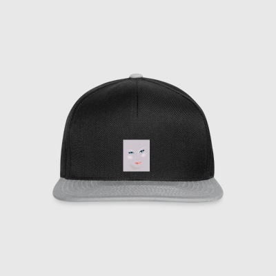 Female face - Snapback Cap