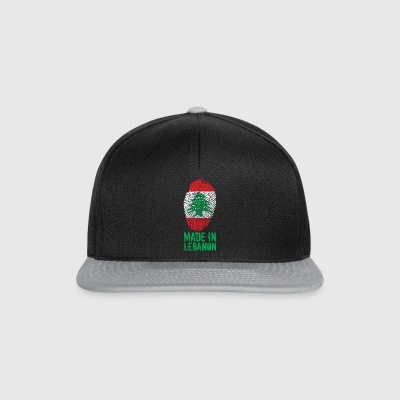 Fremstillet i Libanon / Made in Libanon اللبنانية - Snapback Cap