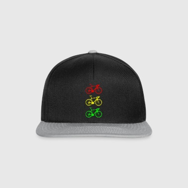 Bicycle traffic lights - Snapback Cap